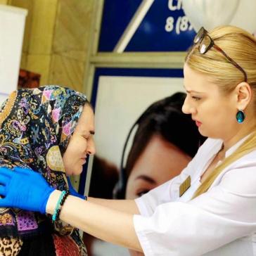 Врачи РДЦ приняли участие во Всероссийской акции по профилактике йододефицитных заболеваний «Соль+Йод IQ сбережет».