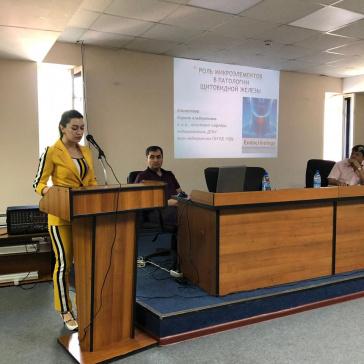 31 мая в Национальной библиотеке РД им. Расула Гамзатова прошла  конференция врачей-эндокринологов.