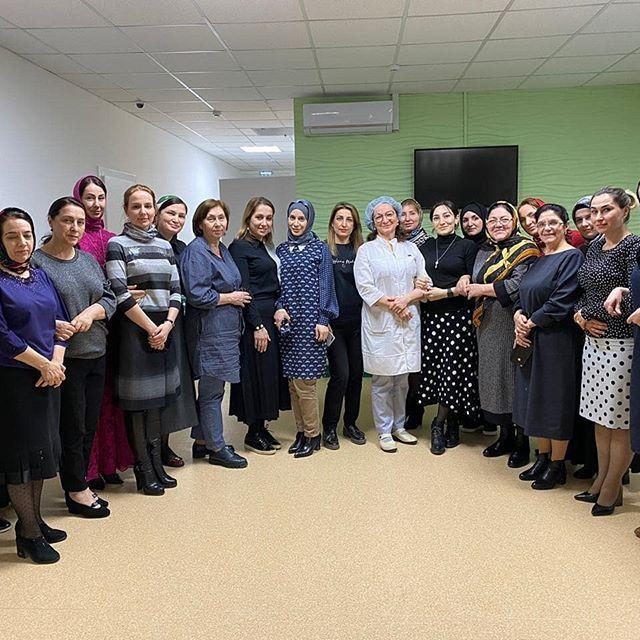 Врачи отделения УЗ-диагностики  РДЦ, приняли участие в семинаре на тему: