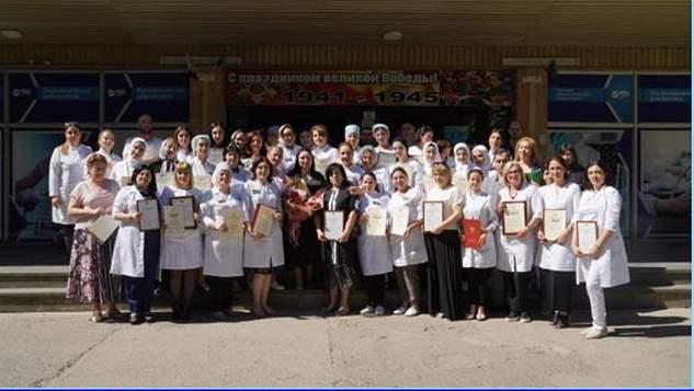 26 июня, в РДЦ состоялось награждение медработников за вклад в борьбу с распространением коронавирусной инфекции (COVID-19)